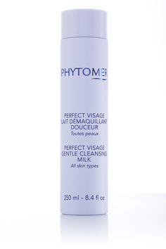 Lait démaquillant Perfect visage utilisé pour les soins fondamentaux du visage.        Ce produit est  disponible à la boutique du Spa et Hôtel le Finlandais.