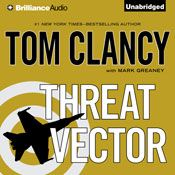 I finished listening to Threat Vector (Unabridged) by Tom Clancy, Mark Greaney, narrated by Lou Diamond Phillips on my Audible app.  Try Audible and get it free.