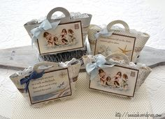 Party favours by Annica, featuring the Shoreline Treasures collection