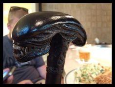 Alien cane head