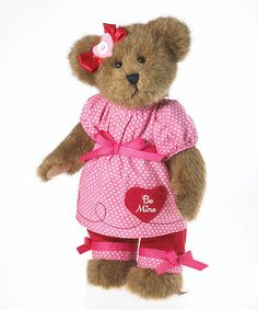Loving this 'Be Mine' Boyds Bear Plush Bear on #zulily! #zulilyfinds 70% off!! New to zulily? Here's my invite link.  http://www.zulily.com/invite/jroberts5032
