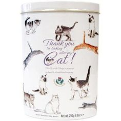 Gardiners Thank You Vanilla Fudge Tin - Cat