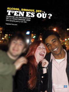 drogue (alcool, toxicomanie, Québec, gouvernement, 2009) agence: Cartier