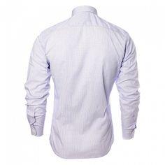 Stylová pánská bavlněná košile sdlouhým rukávem a manžetami. Ideální do kanceláře a na schůzku.