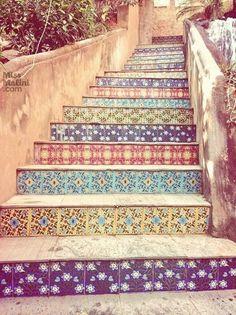 전원주택의 아름다운 정원 계단 꾸미기 : 네이버 블로그