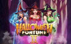 Игровой автомат Halloween Fortune 2 на реальные деньги  Игровой автомат Halloween Fortune 2 посвящен трем ведьмам и Хэллоуину. Получать выигрыши на карту помогут 25 линий на 5 барабанах. Фриспины с растущим коэффициентом выплат делают аппарат интересным и выгодным для игры на реальные деньги с выводом. Halloween, Anime, Movies, Movie Posters, Art, Art Background, Films, Film Poster, Kunst