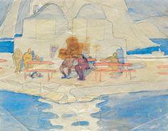 Παπαλουκάς Σπύρος – Spyros Papaloukas [1892-1957] Part.II   paletaart3 – Χρώμα & Φώς