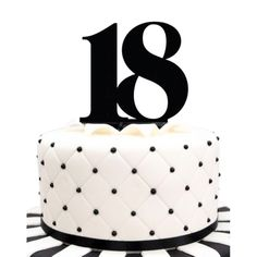 Elegant Picture of Black Birthday Cake Black Birthday Cake Acrylic Number 18 Black Birthday Cake Topper Party Cupcake Fondant 18th Birthday Cake, Adult Birthday Cakes, Themed Birthday Cakes, Happy Birthday Cakes, Birthday Cake Toppers, Fondant Cupcakes, Diy Birthday Gifts For Mom, Aniversary Cakes, Jake Cake