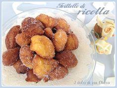 Le Frittelle di ricotta sofficissime sono dei deliziosi dolcetti molto semplici da fare che necessitano di davvero pochissimi ingredienti.