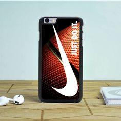 Nike Just Do It Glitter Basket Ball iPhone 6S Plus Case Dewantary