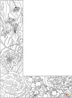 Der Buchstabe L | Super Coloring