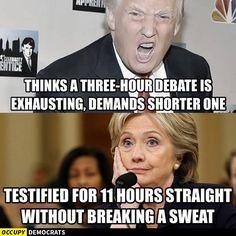 trump fans call mealiberal hillary