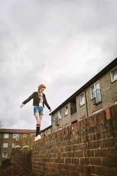 Style Council estate living kids fashion shot by Abi Campbell