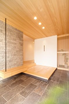 Design House Entrance Interiors New Ideas Diy Interior, Interior And Exterior, Interior Design, Architecture Details, Interior Architecture, Simple Modern Interior, Japanese Style House, Townhouse Designs, Japanese Interior