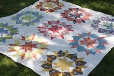 This is a link to a yahoo search for Swoon quilts. You will see lots of them!