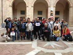 gli instagramers ad Urbino per #InvasioniDigitali e per @Urbino2019 Urbino #InvasioneCompiuta