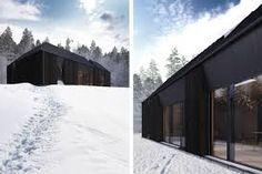 Claesson Koivisto Rune Debuts Gorgeous Daylit Tind Prefab Houses in Scandinavia Prefabricated Houses, Prefab Homes, Luz Natural, Oslo, Outdoor Decor, Inspiration, Cabins, Home Decor, Google
