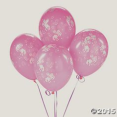 Pink Cowgirl Latex Balloons #Holidays-Events