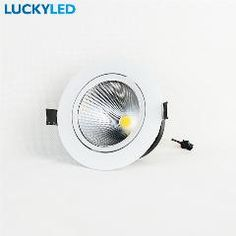 Downlights Strict New Arrival Dimmable Cob Led Recessed Ceiling Spotlight 10w 12w Ac110v 220v Indoor Led Fixture Down Lights Lamp Cabinet Lamp
