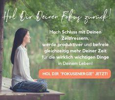 Hol Dir Deinen Fokus zurück Miracle Morning, Carpe Diem, Yoga Meditation, Tatoos, Health Fitness, Stress, Mindfulness, Feelings, Inspiration