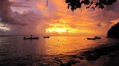 Matanivusi sunsets #fiji #travel #islands