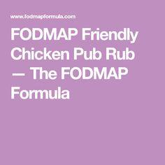 FODMAP Friendly Chicken Pub Rub — The FODMAP Formula
