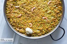 Receta tradicional de arroz a banda. Con fotos del paso a paso, los ingredientes y la presentación. Trucos y consejos de elaboración. Recetas de ...
