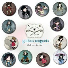 Magnets Gorjuss Doll