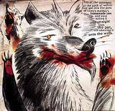 wolves in the walls by neil gaiman illustrated by dave mckean