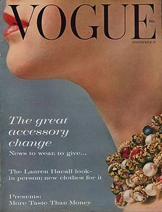 vintage harper's bazaar. so nice without all the clutter of titles