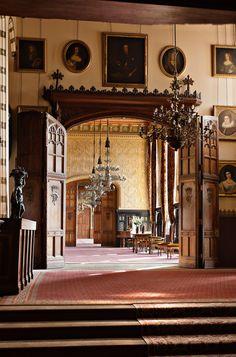 Carlton Towers, Yorkshire. Interiors by John Francis Bentley