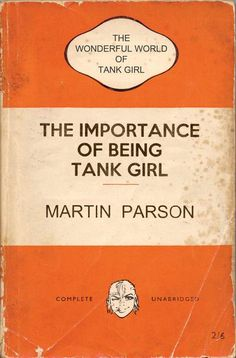Resultado de imagem para the wonderful world of tank girl