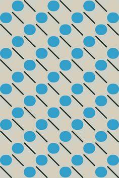 Kapitza - geometric pattern of the day Graphic Design Pattern, Graphic Patterns, Surface Pattern Design, Textile Patterns, Textile Prints, Pattern Art, Motif Vintage, Vintage Design, Pretty Patterns