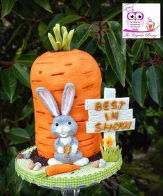 #carrotcake #katysuedesigns #bunny Carrot Cake, Bunny, Cakes, Christmas Ornaments, Holiday Decor, Cute Bunny, Cake Makers, Kuchen, Christmas Jewelry