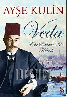 Veda (Fair-well) by the Turkish author Mrs. Ayse Kulin. Hala kitaplıkta okumam için bekliyor:)