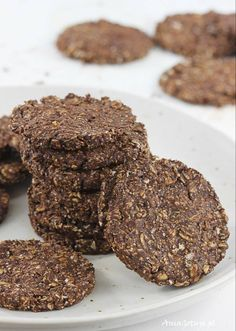 Healthy chocolate oatmeal cookies no flour special-diet Oatmeal Cookies No Flour, Coconut Oil Cookies, Chocolate Oatmeal Cookies, Chip Cookie Recipe, Cookie Recipes, Drop Cookies, Healthy Chocolate, Food Cakes, Peanut Butter