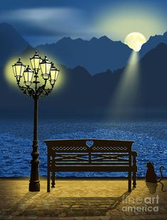 Find images and videos about good night on We Heart It - the app to get lost in what you love. Beautiful Nature Wallpaper, Beautiful Moon, Beautiful Places, Beautiful Pictures, Beautiful Park, Photo Backgrounds, Background Images, Moon Pictures, Romantic Places