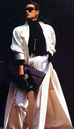 Yasmin Le Bon for Anne Klein - ELLE (1985/1986)