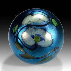 Opium Poppy Paperweight by Daniel Salazar