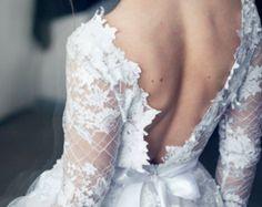 Brautkleid Tüll / / Gardenia / 2 Stück von CarouselFashion auf Etsy