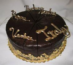 Italian Dessert Cake by www.realcakecompany.com