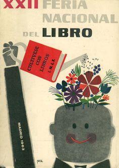 Carteles de la Feria del Libro de Madrid