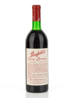 Penfolds Grange Hermitage another selection from his vast cellar