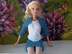 Ravelry: Warm Shoulder Shrug for Barbie  free pattern by Vicki Johnson