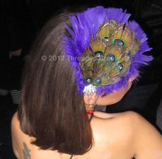 Peacock Costume : Peacock Feather Bustle Tail Deluxe Version For Costume. $95.00, via Etsy.