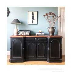 This beautiful antique French shop counter would be perfect in a retail environment or as a sideboard in a kitchen or sitting room. 6ft in length it offers wonderful storage. Finished in Annie Sloan chalk paint Athenian black and waxed sympathetically. It is a statement piece. Some wear due to age and originality. See surface photos for details. Or Dm for more details The dimensions are 55cms depth x91height x 183.5 cmslength (6ft) Shop Counter, Temple Bar, Find Furniture, Annie Sloan Chalk Paint, Antique Shops, Sideboard, French Antiques, Cabinet, The Originals