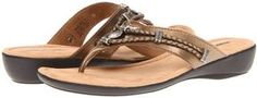 Minnetonka - Silverthorne Thong (Bronze) - Footwear on shopstyle.com
