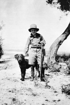 Gerald Durrell and Roger.