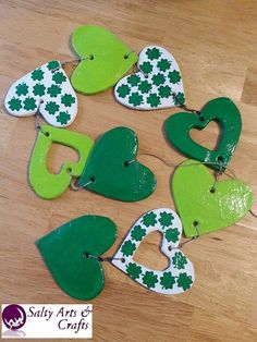 St. Patrick's Day!  Irish Flag Inspired GREEN Handmade Necessities by Briana Post on Etsy