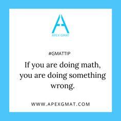 Hope you enjoy our piece of advice today!  #gmat #gmattip #gmattest #gmatmath #gmatquant #gmatexam  #gmathelp #gmatadvice #gmatprep #apexgmat  #gmatpractice   #gmatresources  #gmat700score Gmat Test, Gmat Exam, Gmat Preparation, Appreciate Your Help, Test Anxiety, Test Day, First Contact, Make Sense, Understanding Yourself